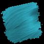 Crazy Color Semi-Permanent Hair Dye - blue jade sample