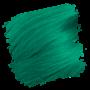 Crazy Color Semi-Permanent Hair Dye - emerald green sample