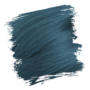 Crazy Color Semi-Permanent Hair Dye - peacock blue sample