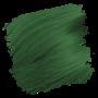 Crazy Color Semi-Permanent Hair Dye - pine green sample