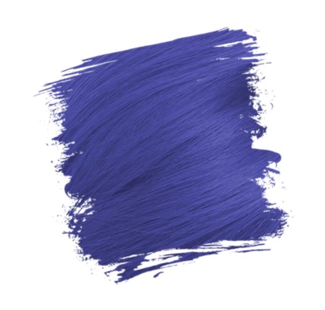 Crazy Color Semi-Permanent Hair Dye Capri Blue sample