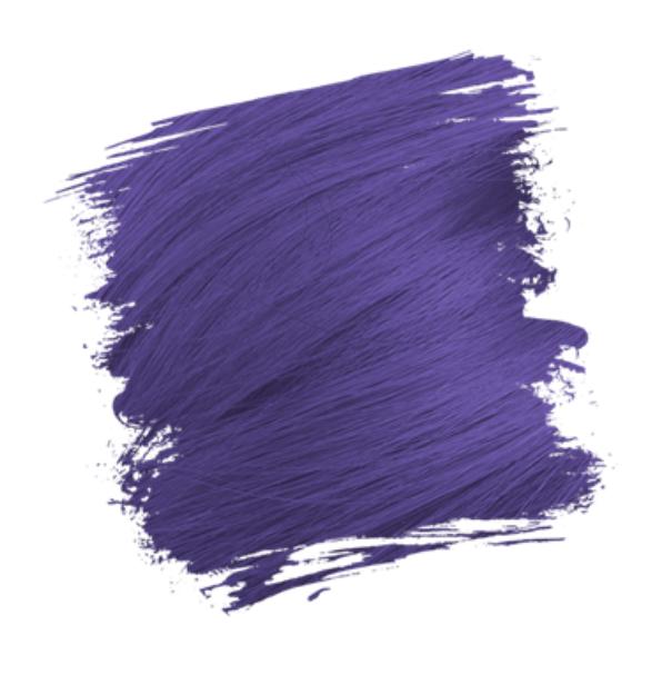 Crazy Color Semi-Permanent Hair Dye - hot purple sample